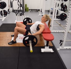 hip thrust for glutes