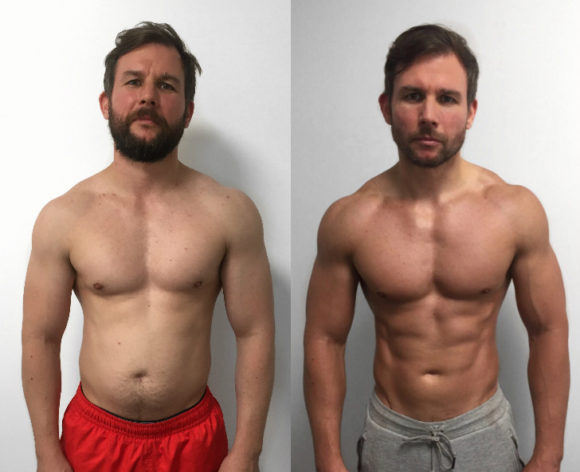 muscle building by transformation in 12 weeks with our london personal training team